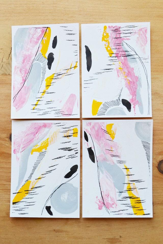 Mini Series II // Pink & Yellow