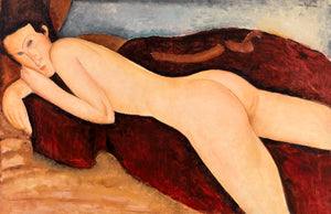 Open image in slideshow, Reclining Nude from the Back