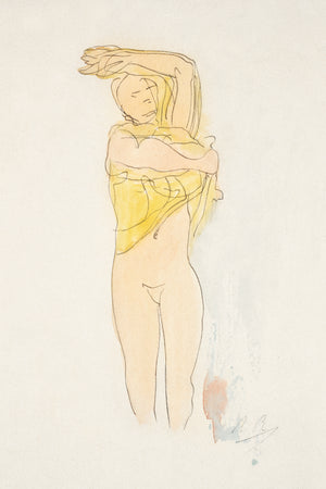 Open image in slideshow, Study of a Nude