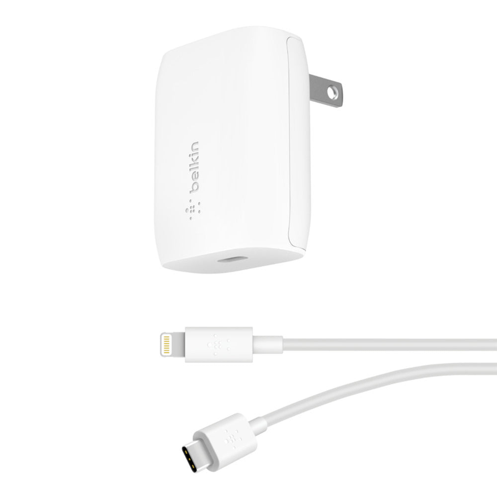 BOOST CHARGE 18W USB-C PD Wall Charger + USB-C to Lightning Cable