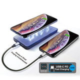 Cruiser Magnetic Wireless Charger Power Bank (10,000 MAH)