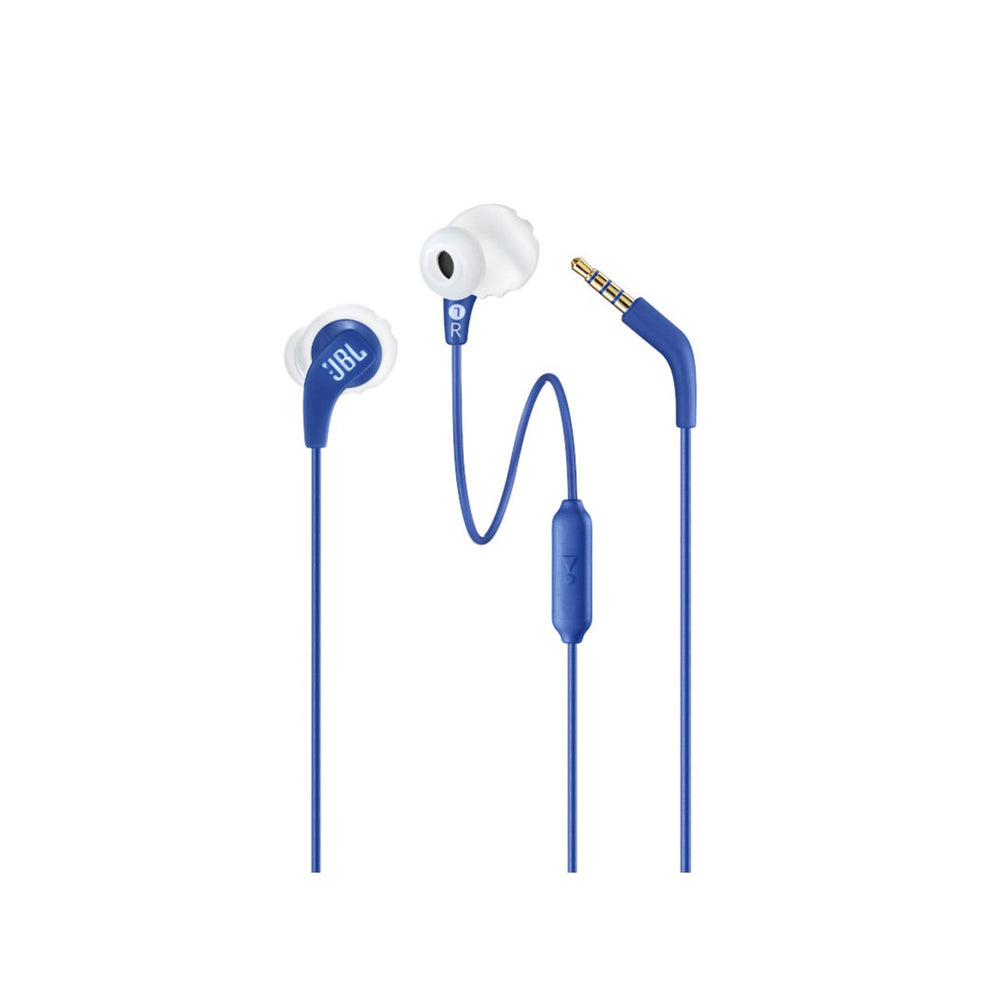 Endurance RUN Sweatproof Wired In-Ear Sports Headphones