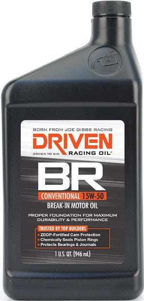 BR Break In Oil Quart (15w-50) - Never Ending Details - 1