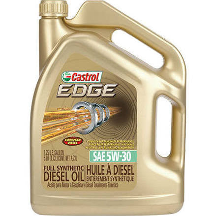 Castrol Edge - 5W-30 Synthetic (5 Quart)