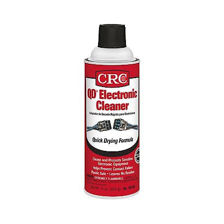 Electric Parts Cleaner - CRC QD Electronic Cleaner (11 oz. Aerosol Can) - Never Ending Details