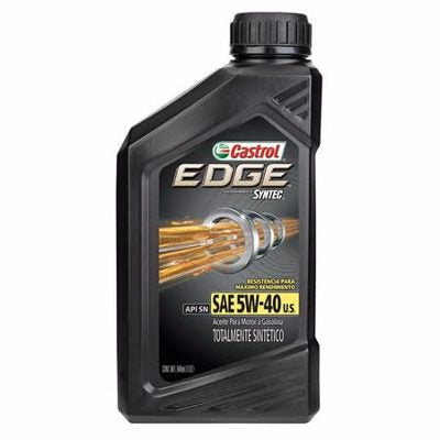 Castrol Edge 5W-40 Synthetic (1 Quart) - Never Ending Details