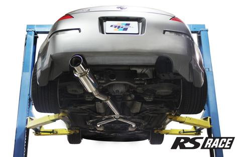 GREDDY REVOLUTION RS EXHAUST (SS Y-PIPE NOT INCL ) - NISSAN (350Z)