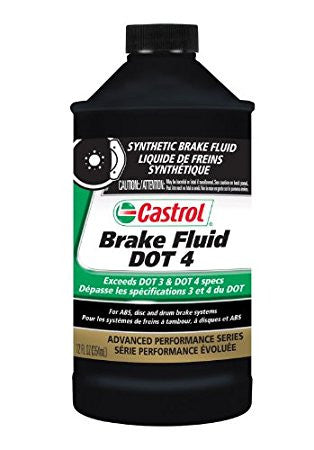 Castrol DOT 4 Brake Fluid (1 Quart)