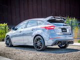 Borla S-Type Catback Exhaust 4in Tips Single Split Rear Exit - Ford (Focus RS) - Never Ending Details