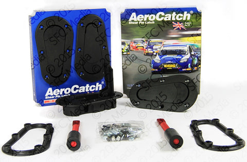 AeroCatch Plus Flush Non-Locking Kit - Never Ending Details
