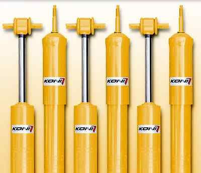 Koni Sport (Yellow) Shock Front and Rear Set - Acura (RSX DC5 RSX-S) - Never Ending Details