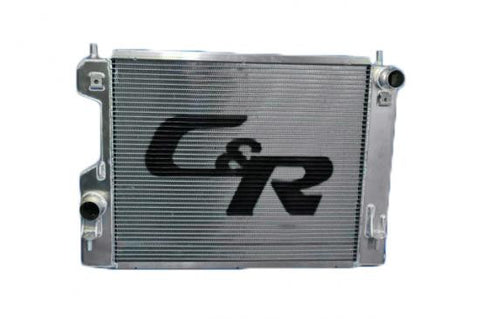 C&R Extruded Tube Radiator - (2011-13 Mustang Shelby GT350)