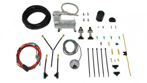 Air Lift Dual Path On-Board Air Compressor System with Heavy Duty Compressor