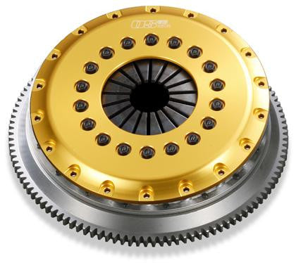 OS Giken 2JZGTE R Series Triple Plate w/Floating Center Hub Clutch - Toyota (SUPRA) - Never Ending Details