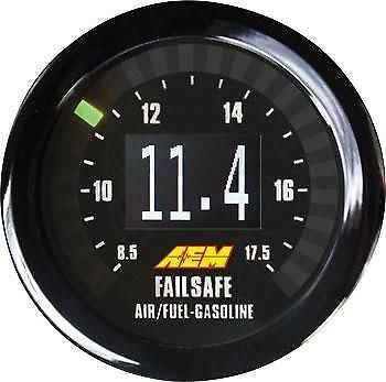 AEM Universal Wideband Failsafe Gauge (Air/Fuel Ratios and Manifold Pressure) - Never Ending Details