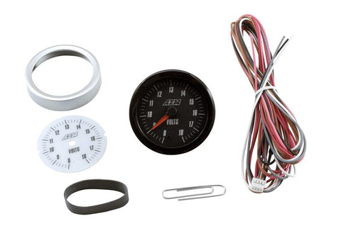 AEM Analog 8-18V Volts Gauge (US) - Never Ending Details