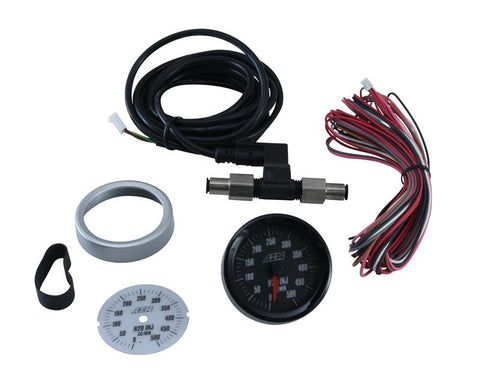 AEM Water / Methanol 0-500cc Flow Gauge