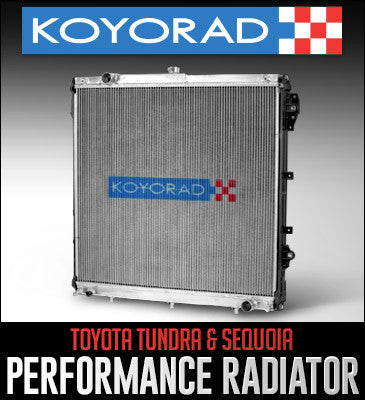 Koyo HH SERIES Radiator (A/T) - TOYOTA (TUNDRA) - Never Ending Details