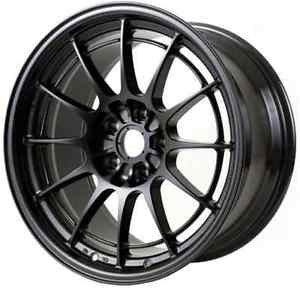 Enkei NT03+M 18x9.5 5x100 40mm Offset Black Wheel - Never Ending Details