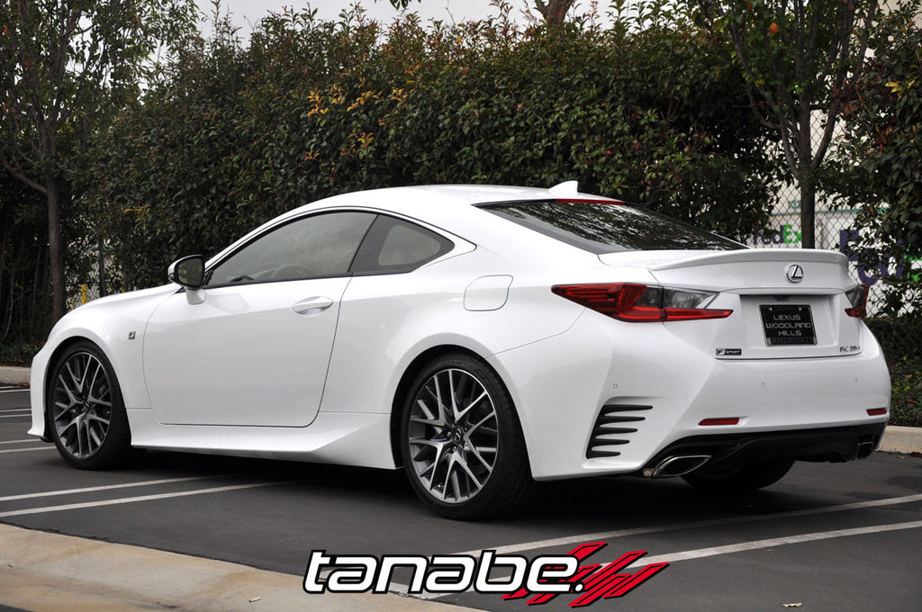 tanabe nf210 lowering springs lexus rc 350 f sport is. Black Bedroom Furniture Sets. Home Design Ideas