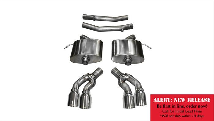 "Corsa 2.75"" Extreme Axle Back Exhaust - 2016+ Cadillac CTS-V"