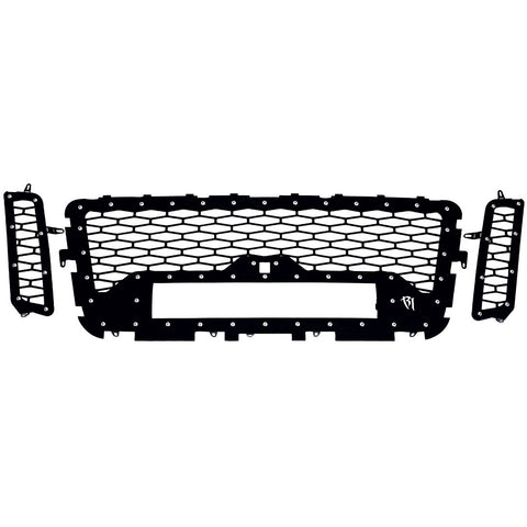 16-17 Nissan Titan Grille with Camera Fits One 20 Inch E-Series Pro RIGID Industries - Never Ending Details