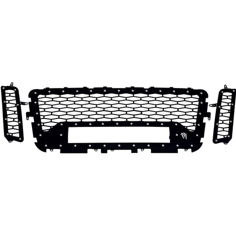 16-17 Nissan Titan Grille No Camera Fits One 20 Inch E-Series Pro RIGID Industries - Never Ending Details