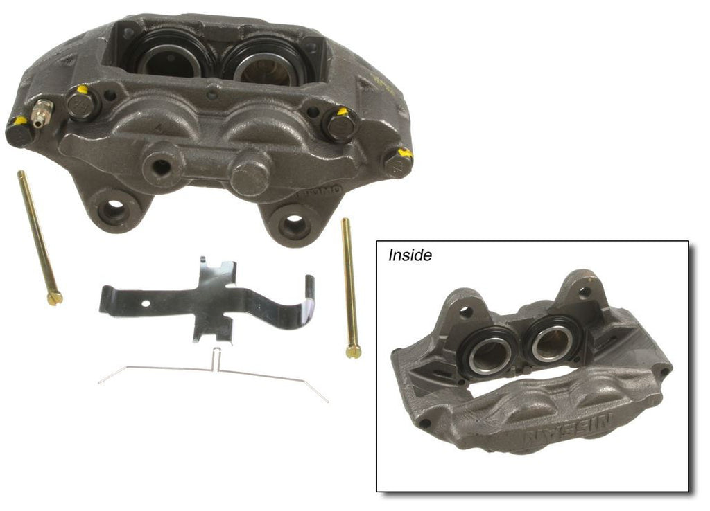 A1 Cardone Remanufactured Brake Caliper Front Left - Nissan (300ZX TT)