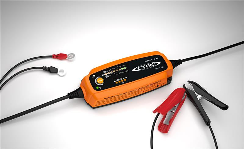 CTEK Battery Charger - MUS 4.3 Polar - 12V - Never Ending Details