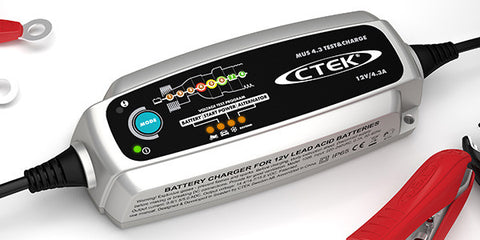CTEK Battery Charger - MUS 4.3 Test & Charge - 12V - Never Ending Details