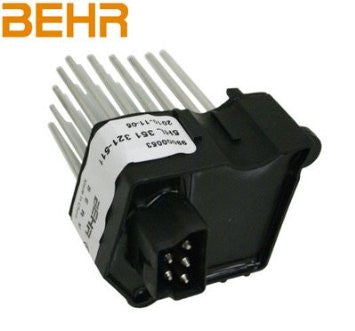 Behr Final Stage Unit (Blower Regulator) - BMW (E46) - Never Ending Details