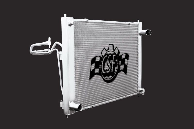 CSF Racing Radiator w/ AT Transmission - Nissan (370Z) - Never Ending Details