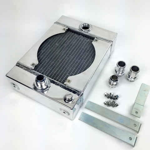 CSF Universal Drag Radiator (with SPAL fan & kit) - Never Ending Details - 1