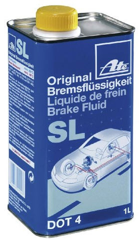 ATE SL Brake Fluid - DOT 4 (1 Liter) - Never Ending Details