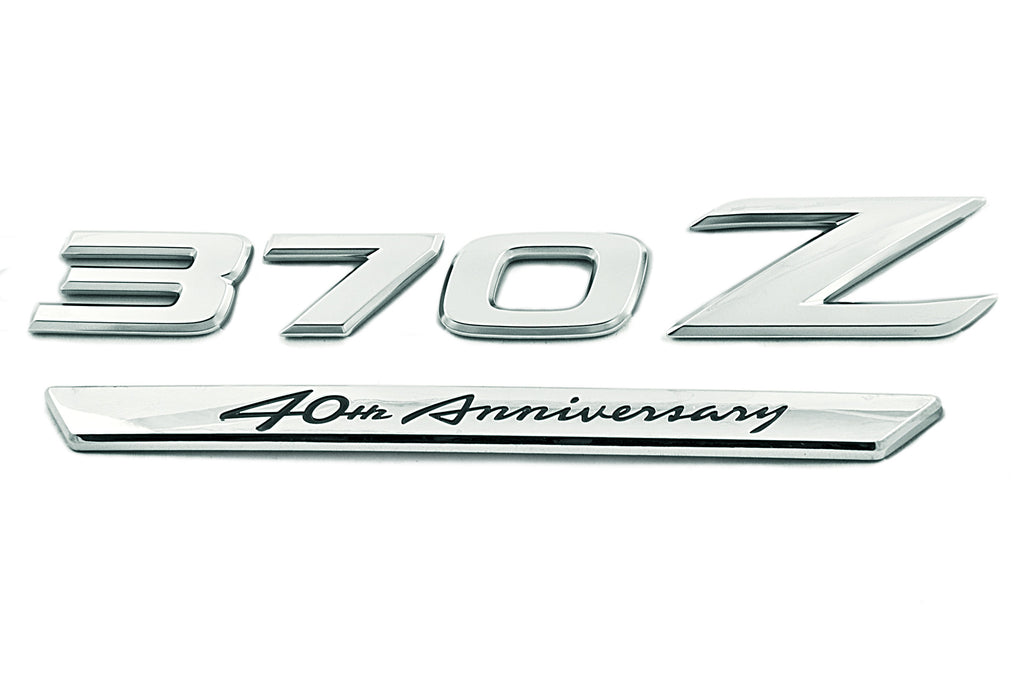 Genuine Nissan 40th Anniversary Badge - Nissan (370Z) - Never Ending Details