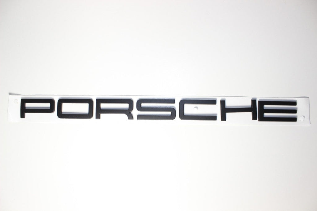 "Genuine Porsche 991 GT3 ""PORSCHE"" Rear Badge Emblem"