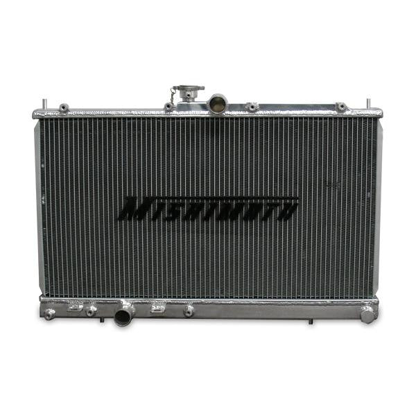 Honda Civic K-Series Swap Aluminum Radiator - Never Ending Details