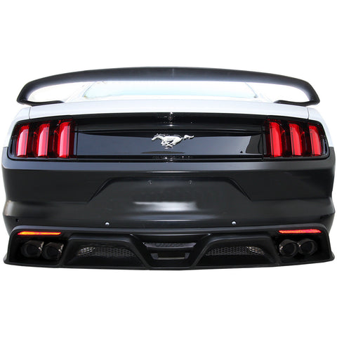 Anderson Composites GT350 Style Fiberglass Rear Diffuser - (2015-17 Mustang) - Never Ending Details
