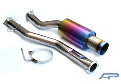 Agency Power Nissan Ti Catback Exhaust - NISSAN (350Z) - Never Ending Details