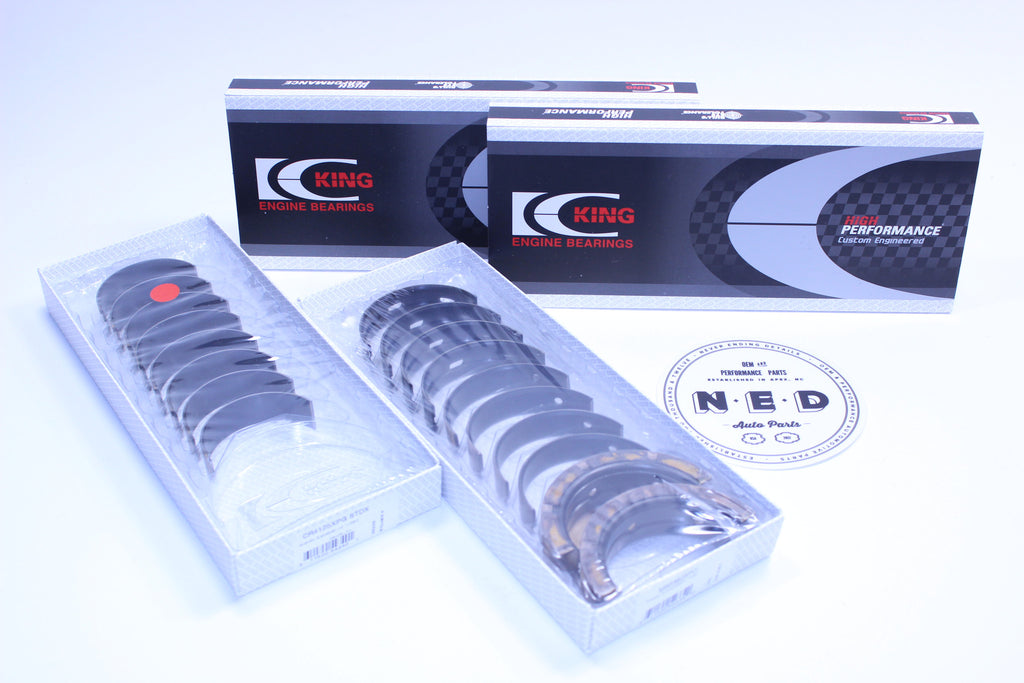 KING PERFORMANCE MAIN BEARING/ROD BEARING SET - SUBARU (EJ20 EJ22 EJ25) - Never Ending Details