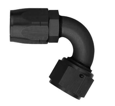 Aeroquip -6AN 120deg Non-Swivel Elbow Hose Fitting - FCM1042
