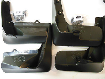 OEM Scion FR-S 2013 2014 Front and Rear Mud Guard Set Fits Subaru BRZ - Never Ending Details