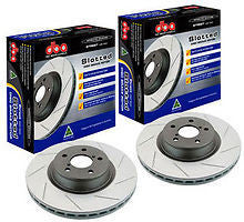 DBA Front Slotted Street Series Rotor T2 PAIR - SUBARU (OUTBACK) - Never Ending Details