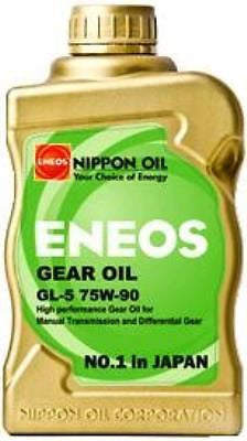 ENEOS EN-GEAR Gear Oil GL-5 75W90 FLUID (1) Case (6) Quarts - Never Ending Details