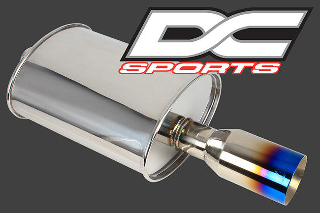 DC Sports Universal Stainless Mufflers - Never Ending Details