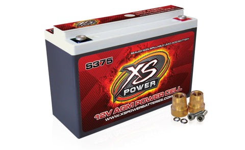XS POWER S375 12 VOLT BATTERY - Never Ending Details