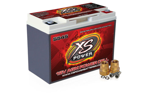 XS POWER S545 12 VOLT BATTERY - Never Ending Details