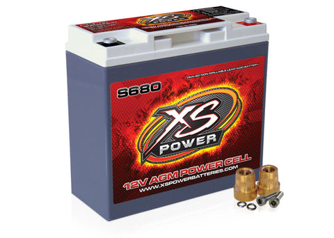 XS POWER S680 12 VOLT BATTERY - Never Ending Details
