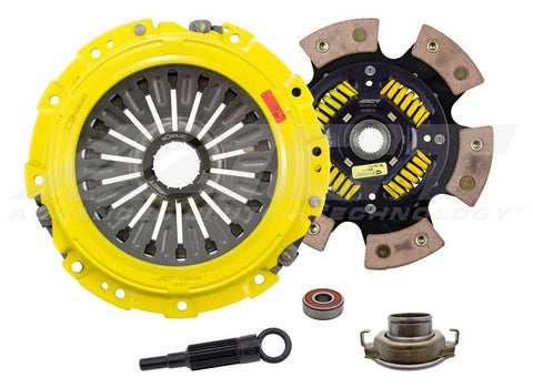ACT HD Clutch Kit; 6 Puck Sprung Disc (G6); w/ Monoloc Collar - Subaru (STI) - Never Ending Details