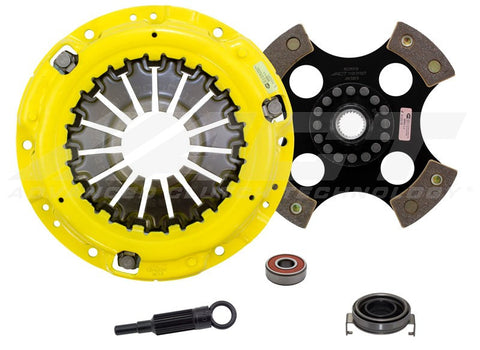 ACT HD Clutch Kit 4 Puck Solid Disc - Never Ending Details